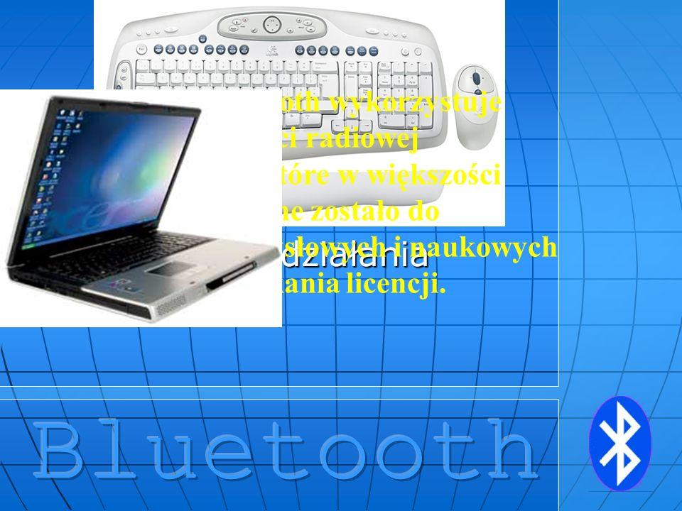 Bluetooth Zasada działania