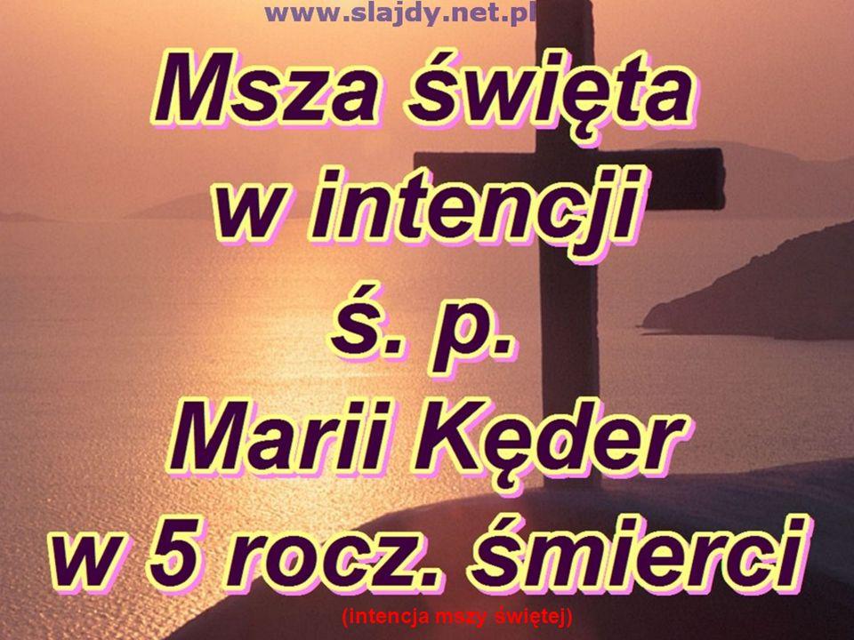 (intencja mszy świętej)