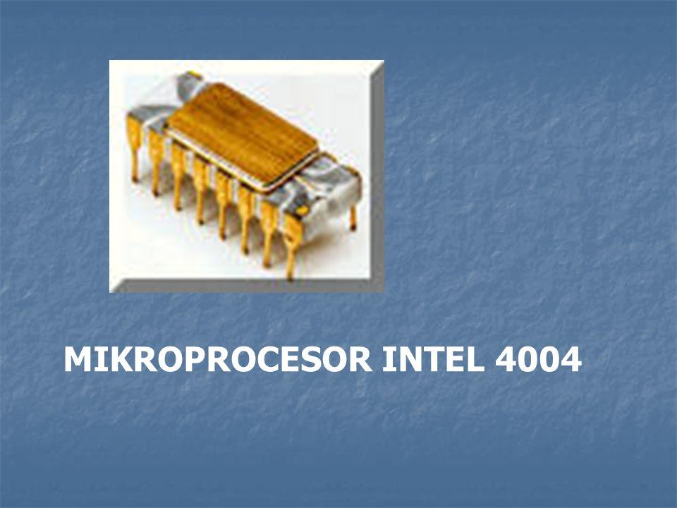 MIKROPROCESOR INTEL 4004