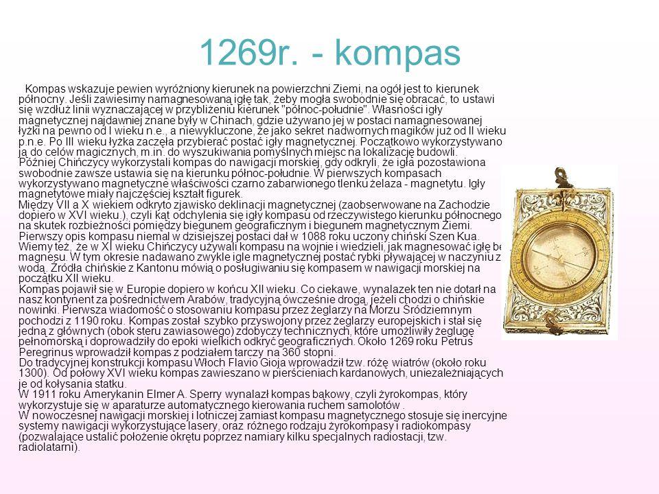 1269r. - kompas
