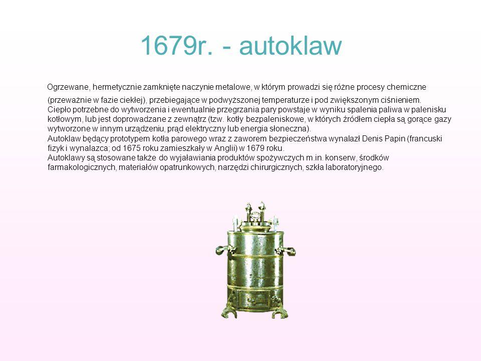 1679r. - autoklaw