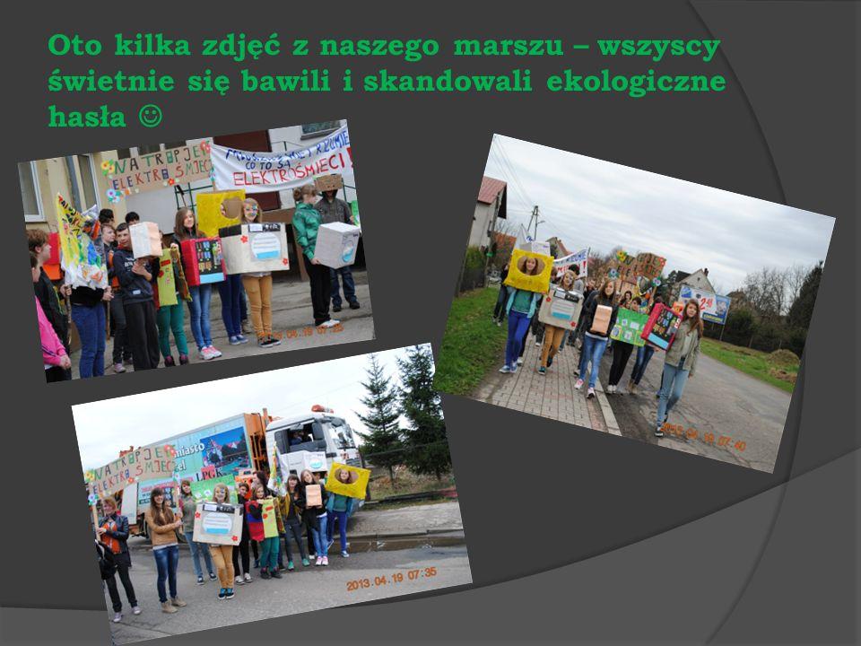 Oto kilka zdjęć z naszego marszu – wszyscy świetnie się bawili i skandowali ekologiczne hasła 