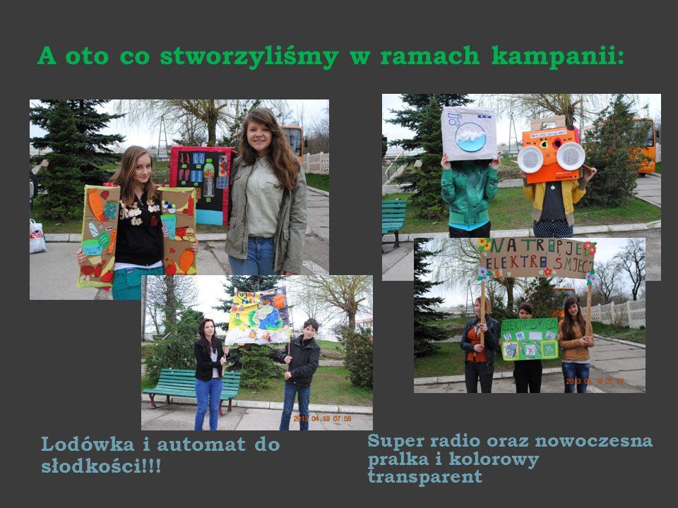 A oto co stworzyliśmy w ramach kampanii: