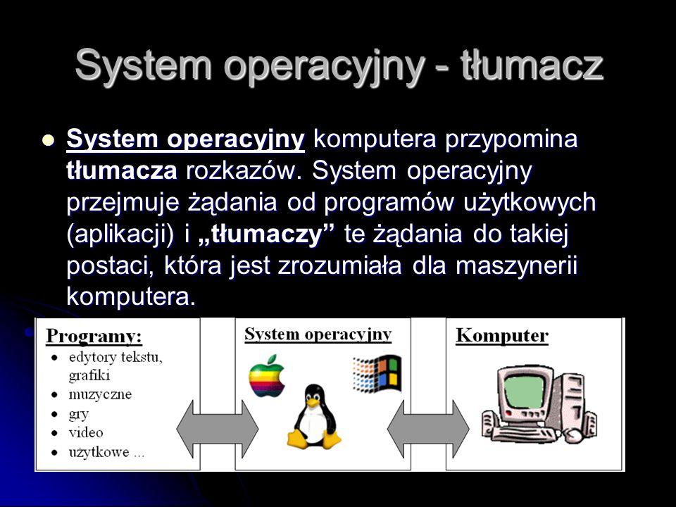 System operacyjny - tłumacz