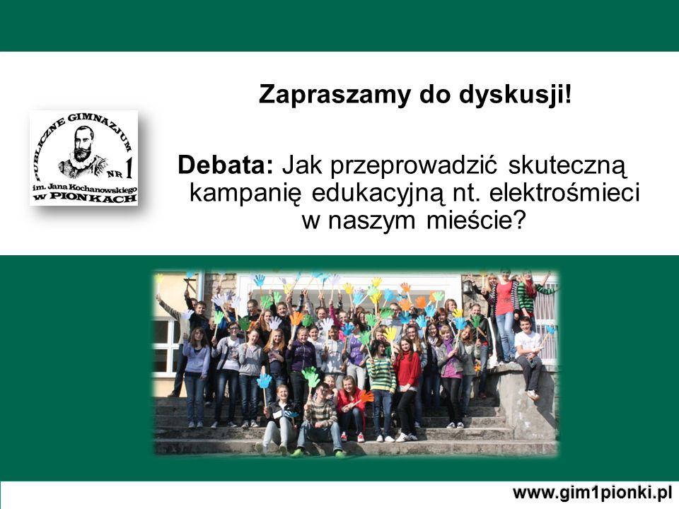 Zapraszamy do dyskusji!