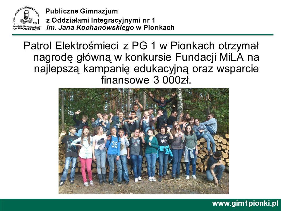 Publiczne Gimnazjum z Oddziałami Integracyjnymi nr 1 im