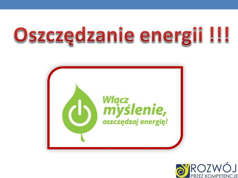 Oszczędzanie energii !!!
