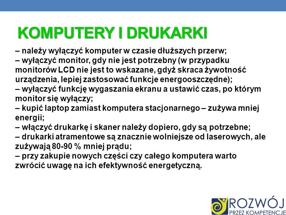 Komputery i drukarki