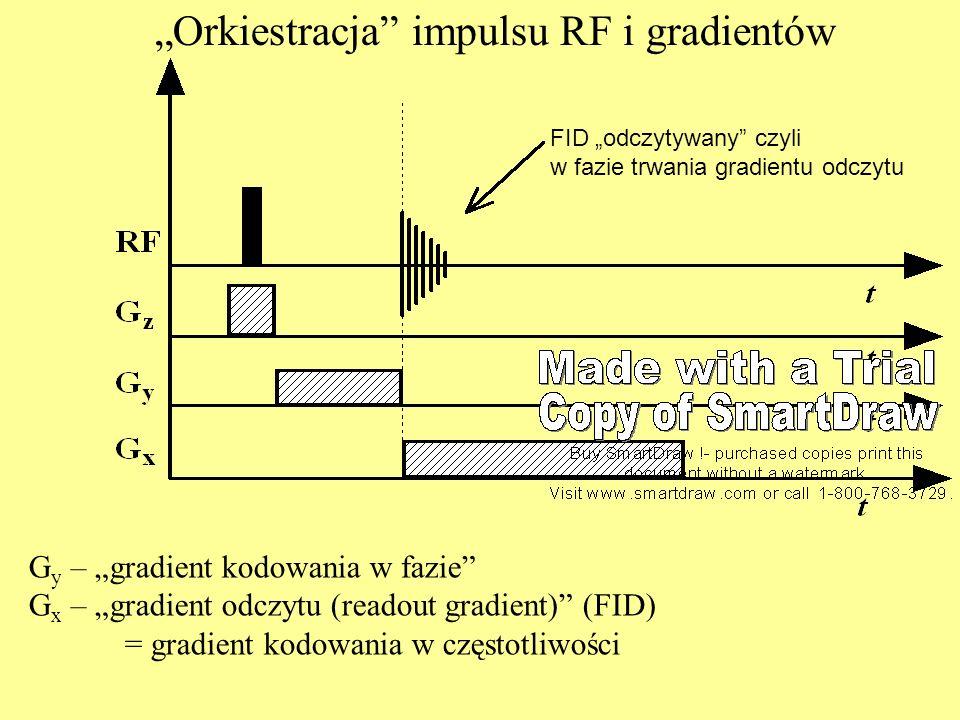 """""""Orkiestracja impulsu RF i gradientów"""