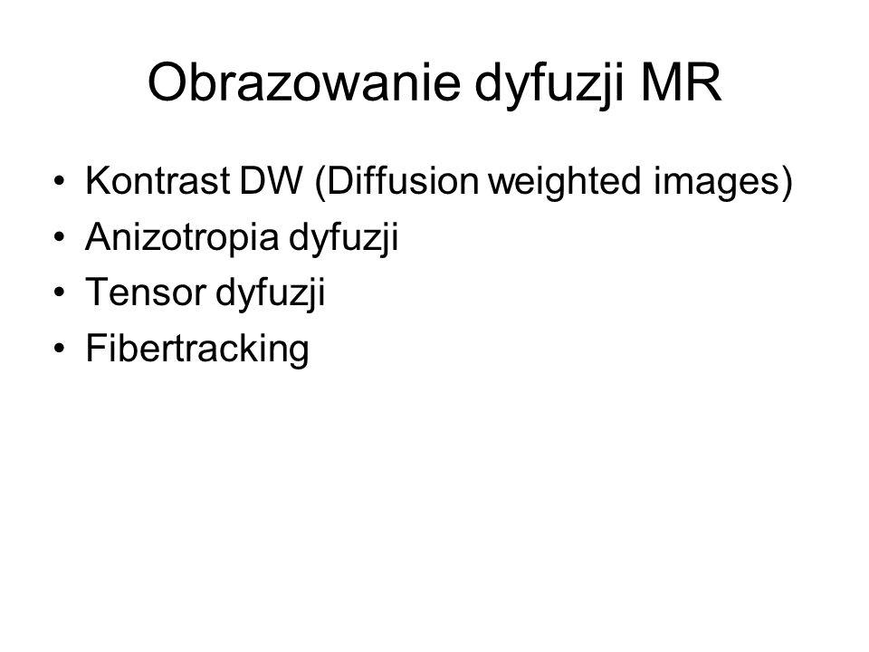 Obrazowanie dyfuzji MR