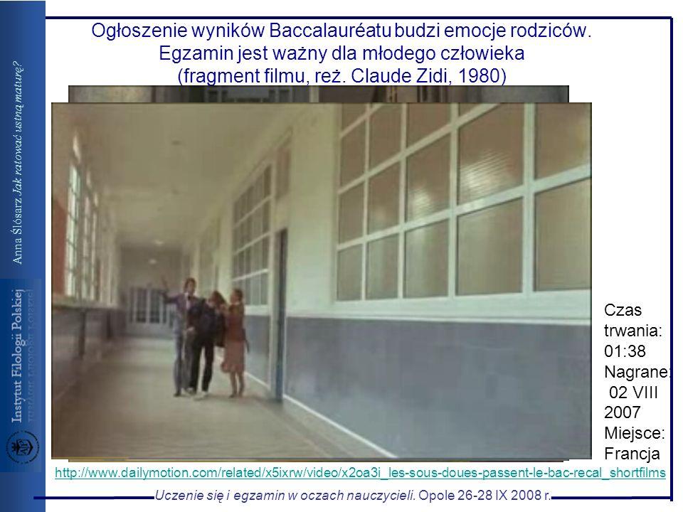 Ogłoszenie wyników Baccalauréatu budzi emocje rodziców