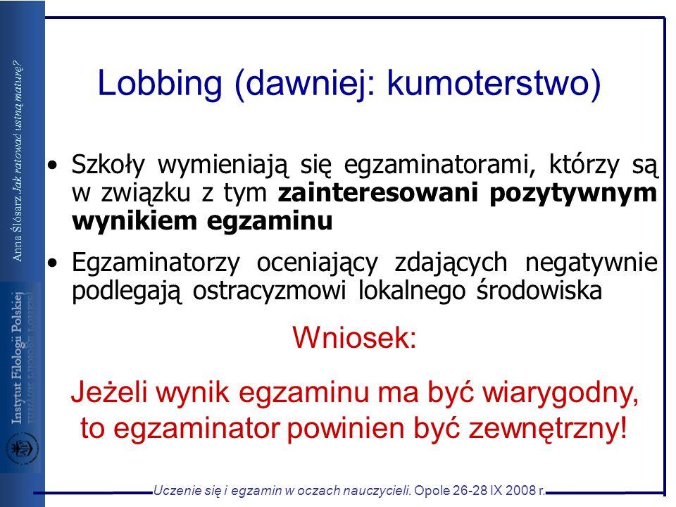 Lobbing (dawniej: kumoterstwo)