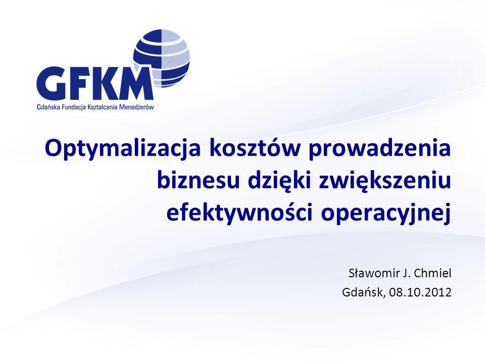 Sławomir J. Chmiel Gdańsk, 08.10.2012