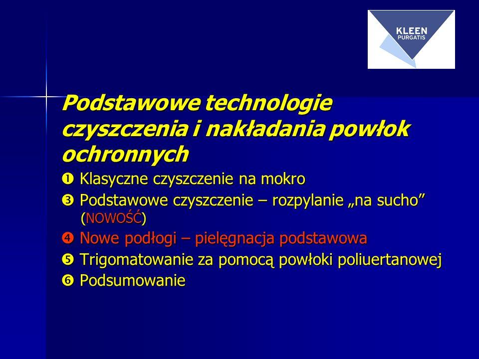 Podstawowe technologie czyszczenia i nakładania powłok ochronnych