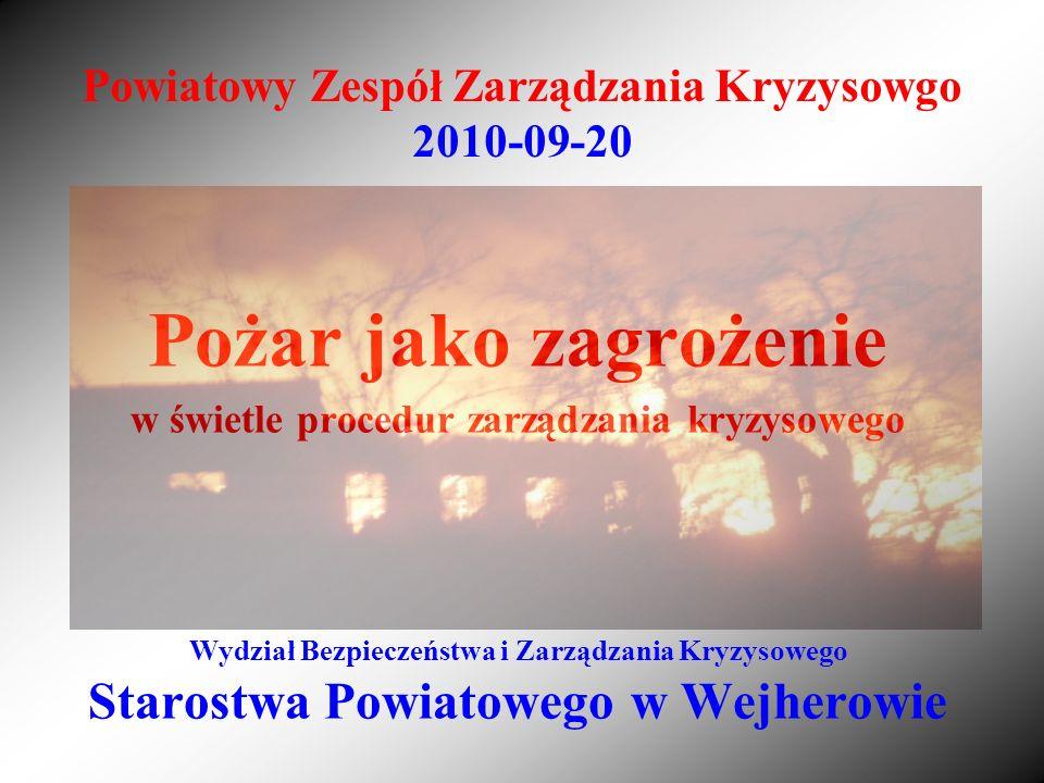 Powiatowy Zespół Zarządzania Kryzysowgo 2010-09-20