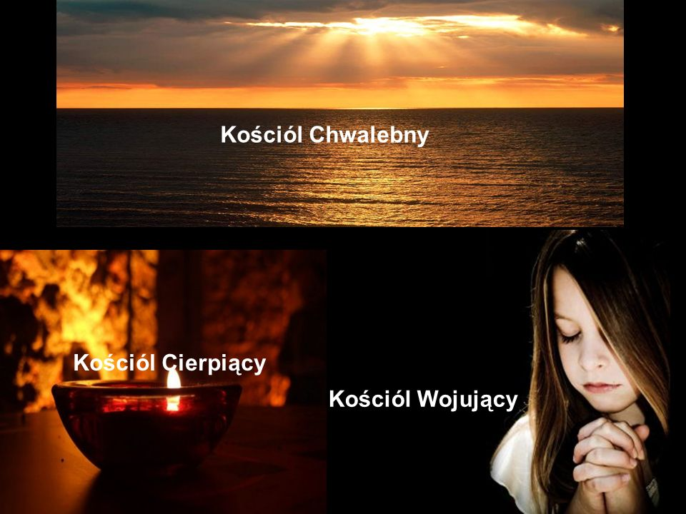 Kościól Chwalebny Kościól Cierpiący Kościól Wojujący