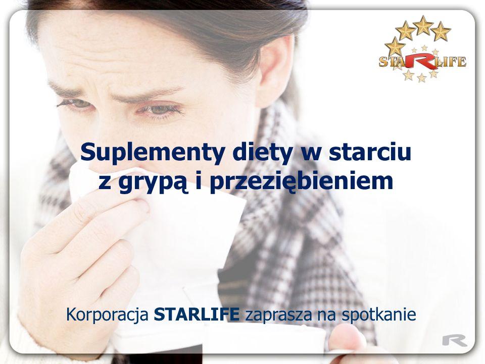 Suplementy diety w starciu z grypą i przeziębieniem