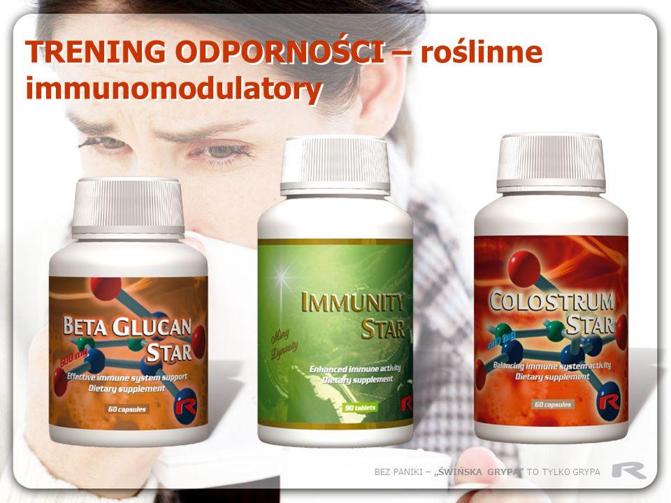 TRENING ODPORNOŚCI – roślinne immunomodulatory
