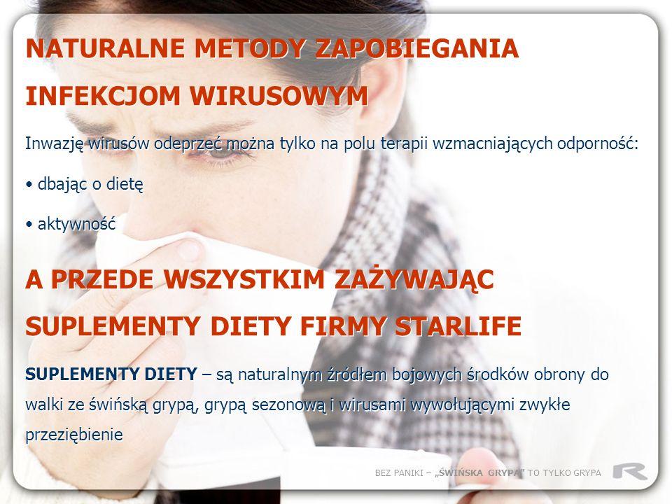 NATURALNE METODY ZAPOBIEGANIA INFEKCJOM WIRUSOWYM