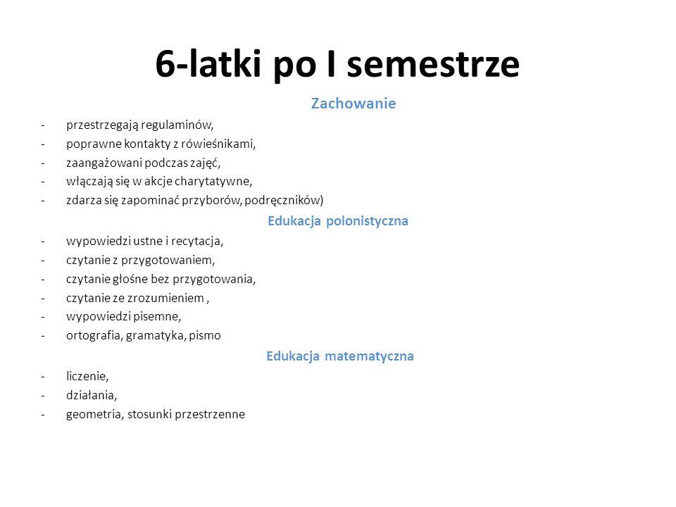 Edukacja polonistyczna Edukacja matematyczna