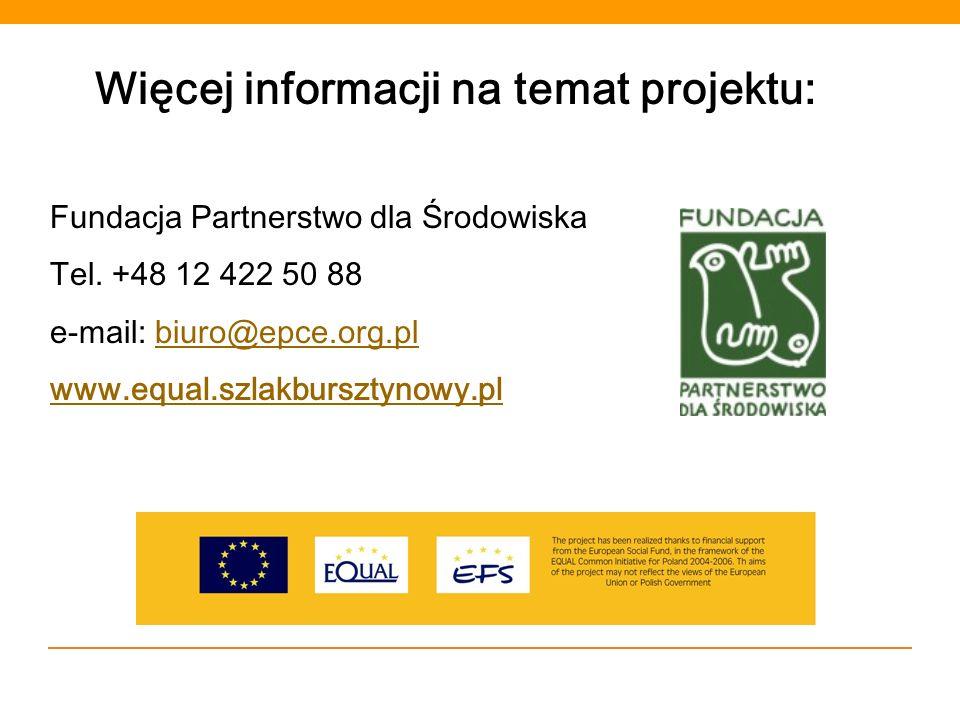 Więcej informacji na temat projektu: