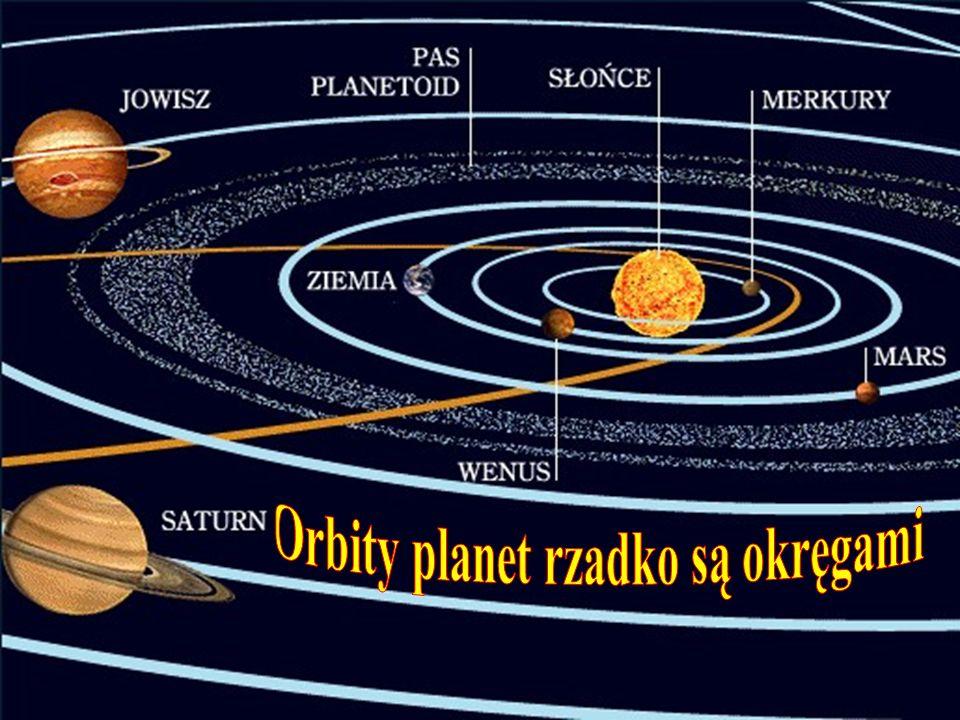 Orbity planet rzadko są okręgami