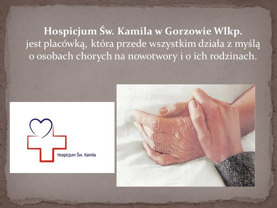 Hospicjum Św. Kamila w Gorzowie Wlkp
