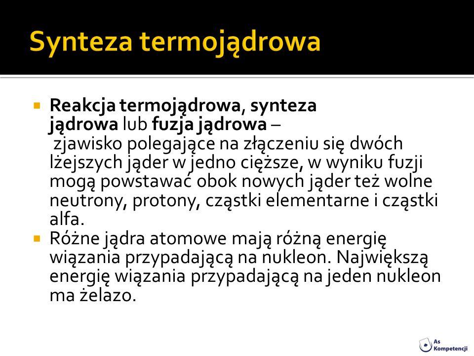 Synteza termojądrowa