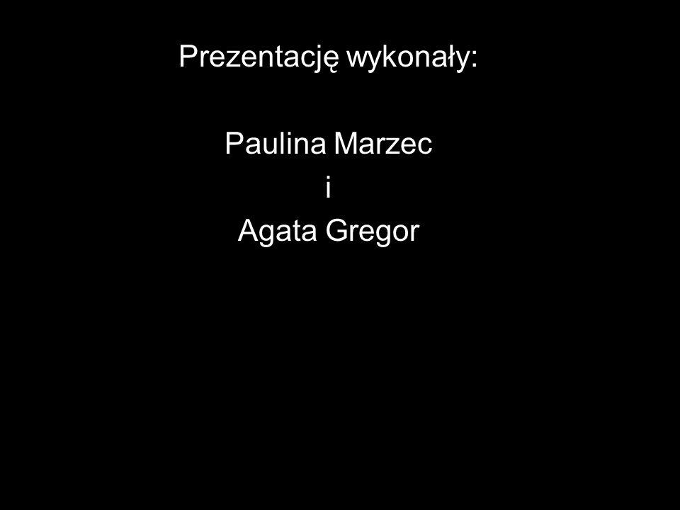 Prezentację wykonały: Paulina Marzec i Agata Gregor