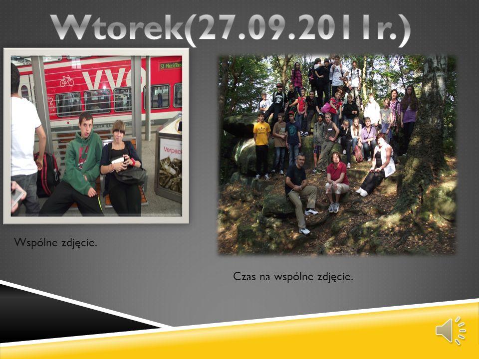 Wtorek(27.09.2011r.) Wspólne zdjęcie. Czas na wspólne zdjęcie.