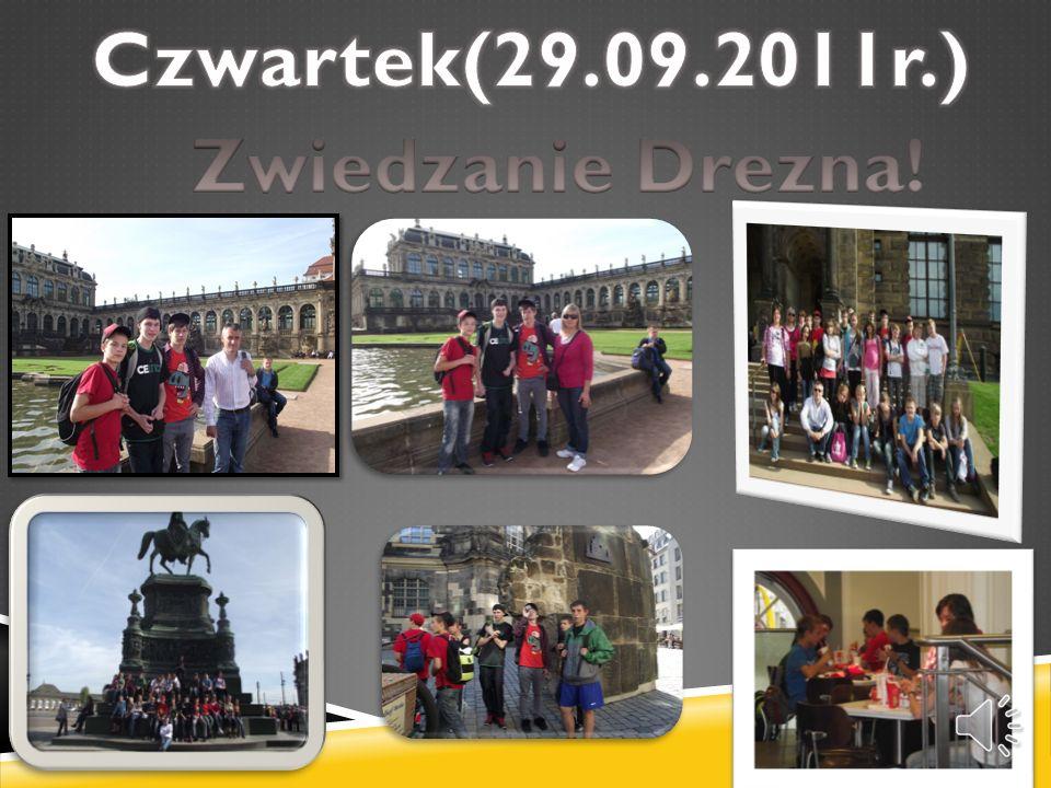Czwartek(29.09.2011r.) Zwiedzanie Drezna!