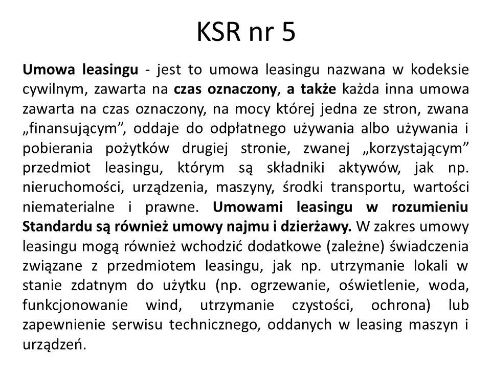 KSR nr 5