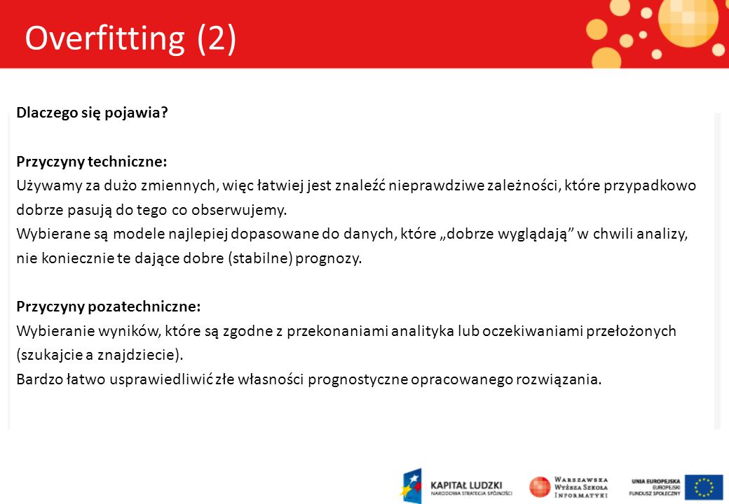 Overfitting (2)