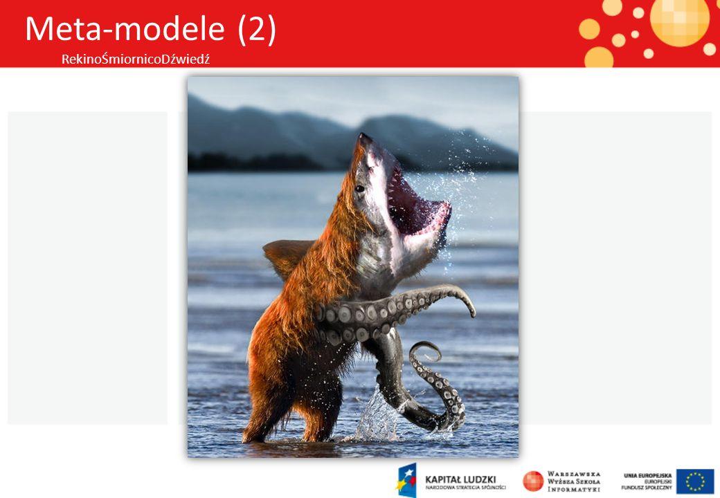 Meta-modele (2) RekinoŚmiornicoDźwiedź