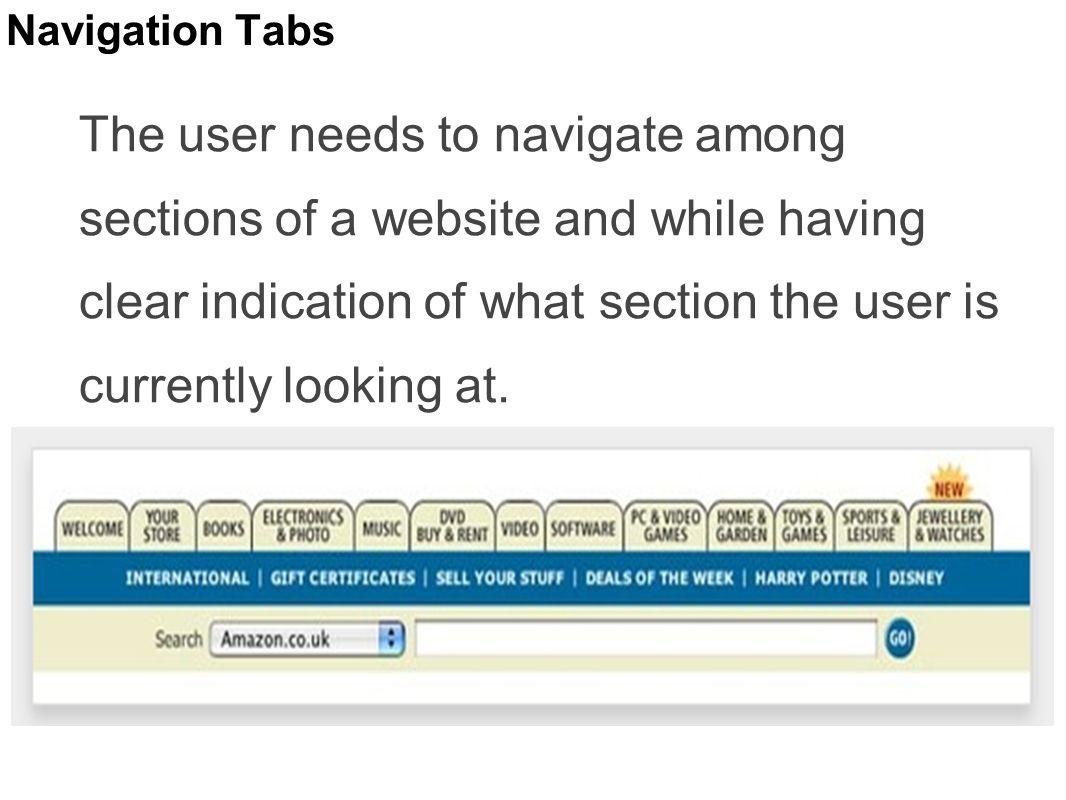 Navigation Tabs