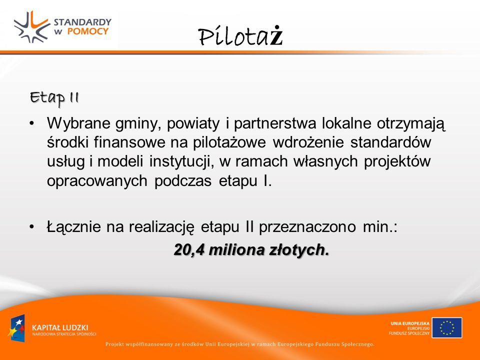 Pilotaż Etap II.