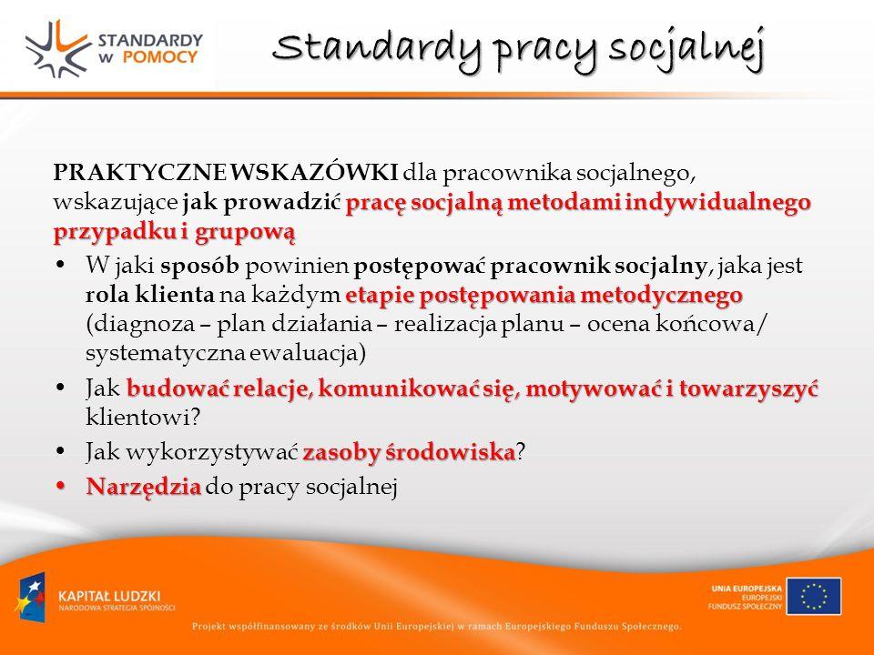 Standardy pracy socjalnej