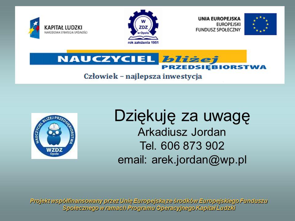 email: arek.jordan@wp.pl