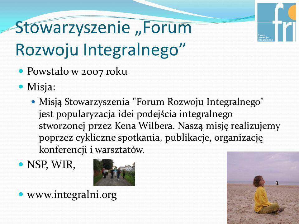"""Stowarzyszenie """"Forum Rozwoju Integralnego"""