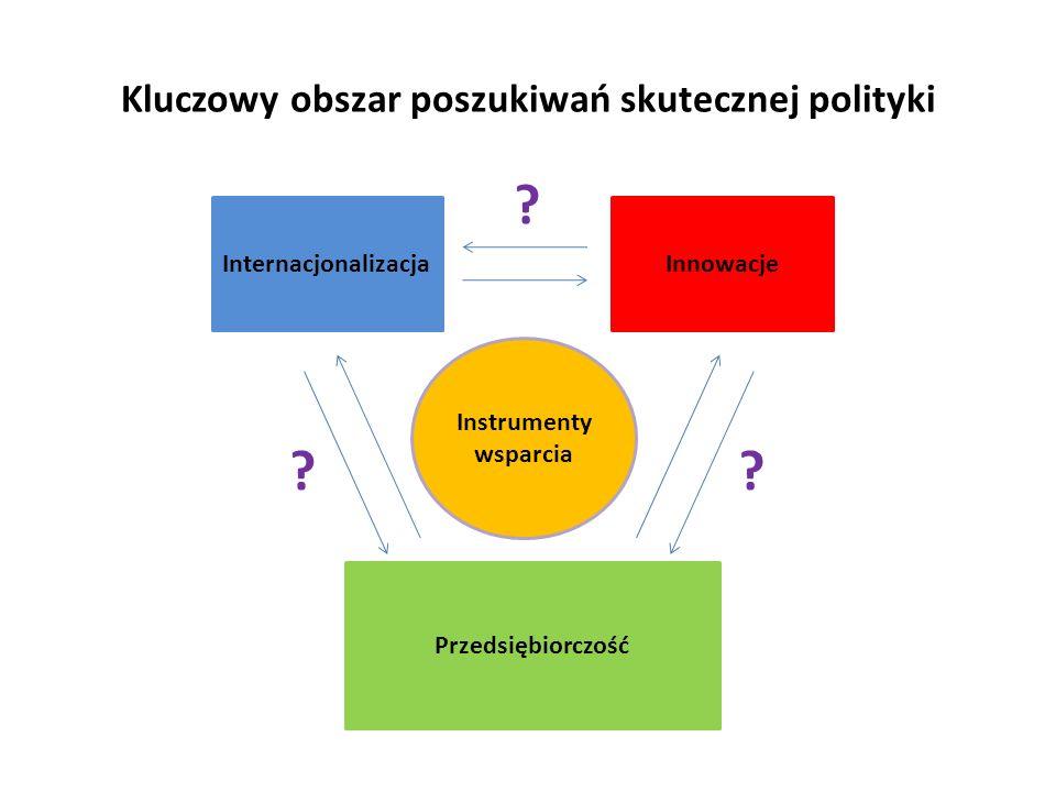 Kluczowy obszar poszukiwań skutecznej polityki