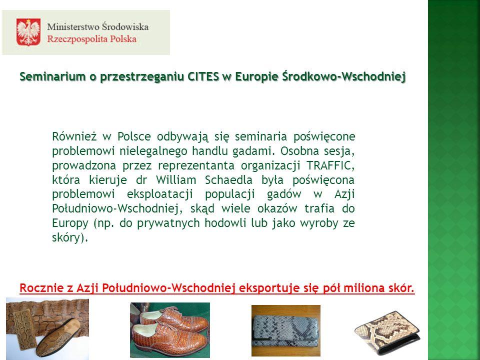 Seminarium o przestrzeganiu CITES w Europie Środkowo-Wschodniej