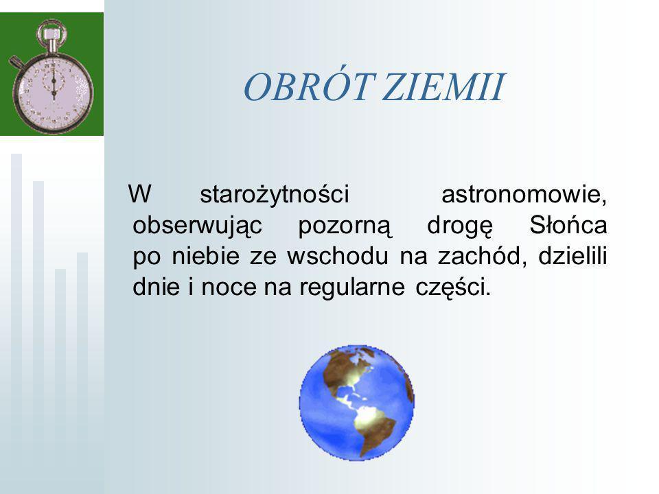 OBRÓT ZIEMII