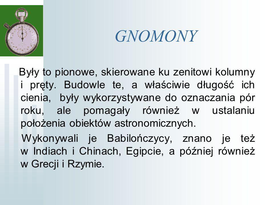GNOMONY