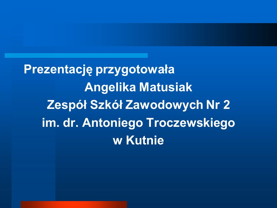 Zespół Szkół Zawodowych Nr 2 im. dr. Antoniego Troczewskiego