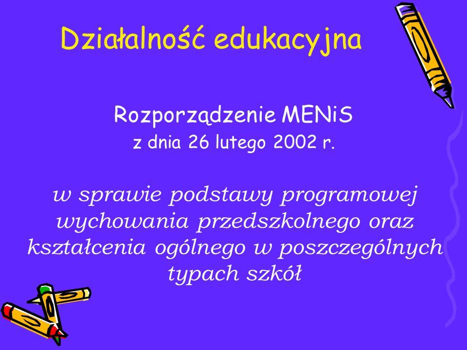 Działalność edukacyjna