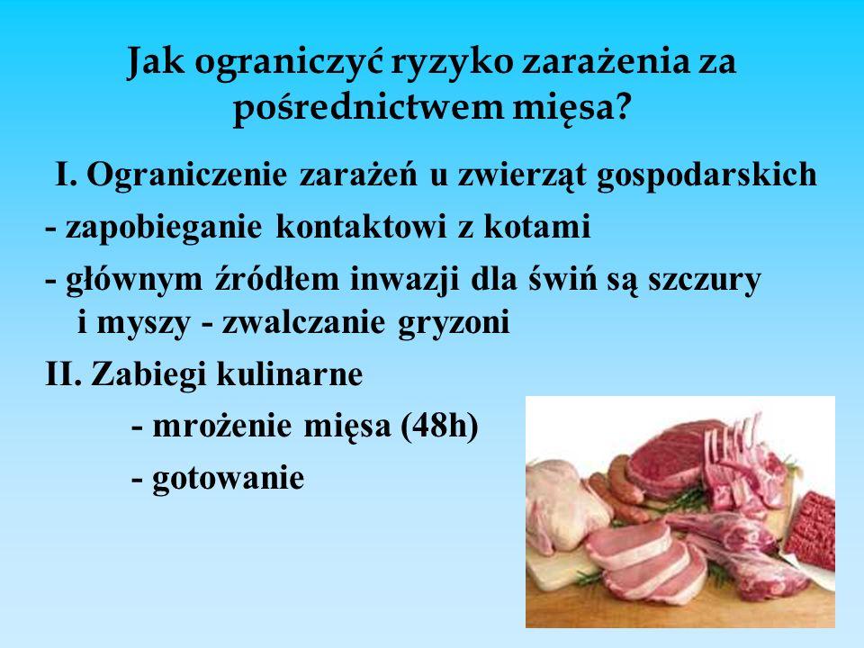 Jak ograniczyć ryzyko zarażenia za pośrednictwem mięsa