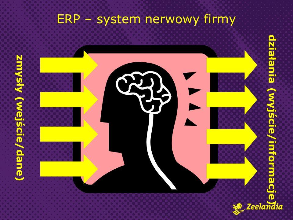 ERP – system nerwowy firmy