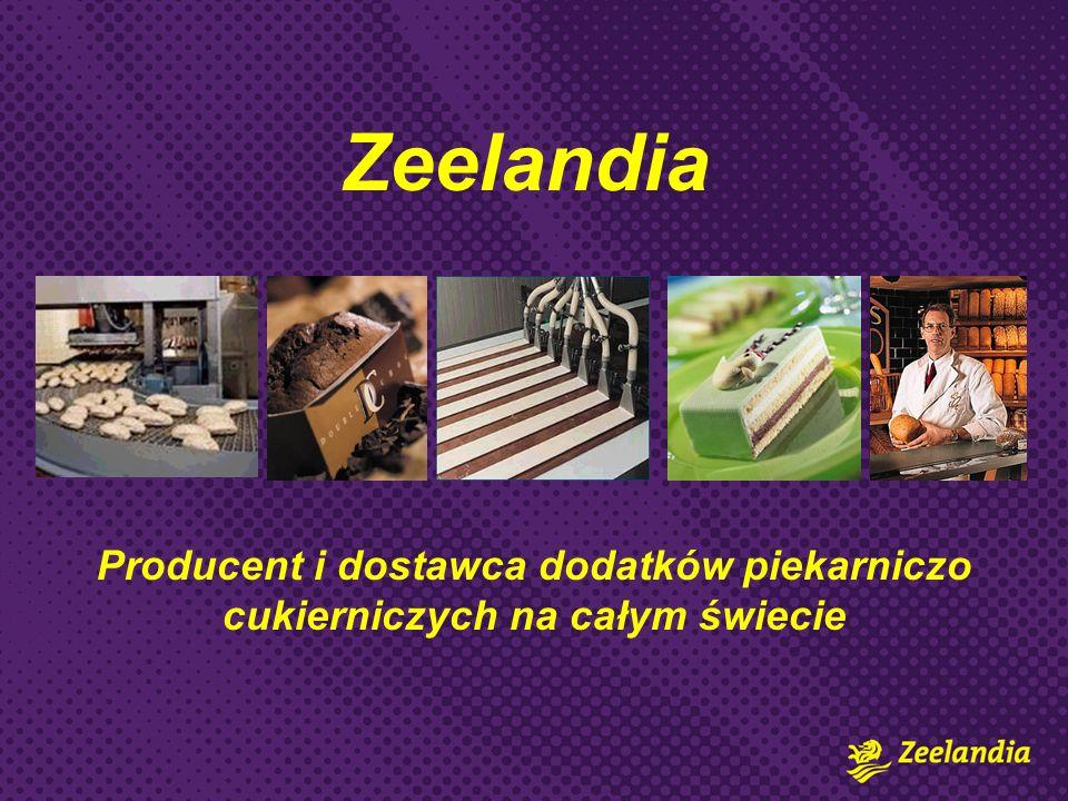 Zeelandia Producent i dostawca dodatków piekarniczo cukierniczych na całym świecie