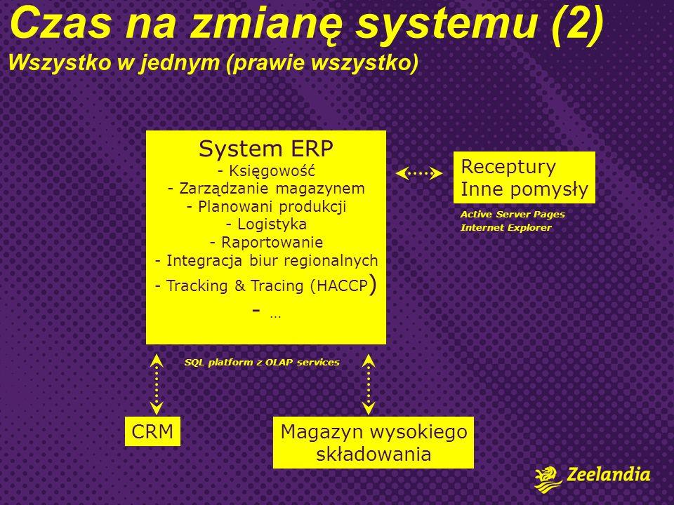 Czas na zmianę systemu (2) Wszystko w jednym (prawie wszystko)