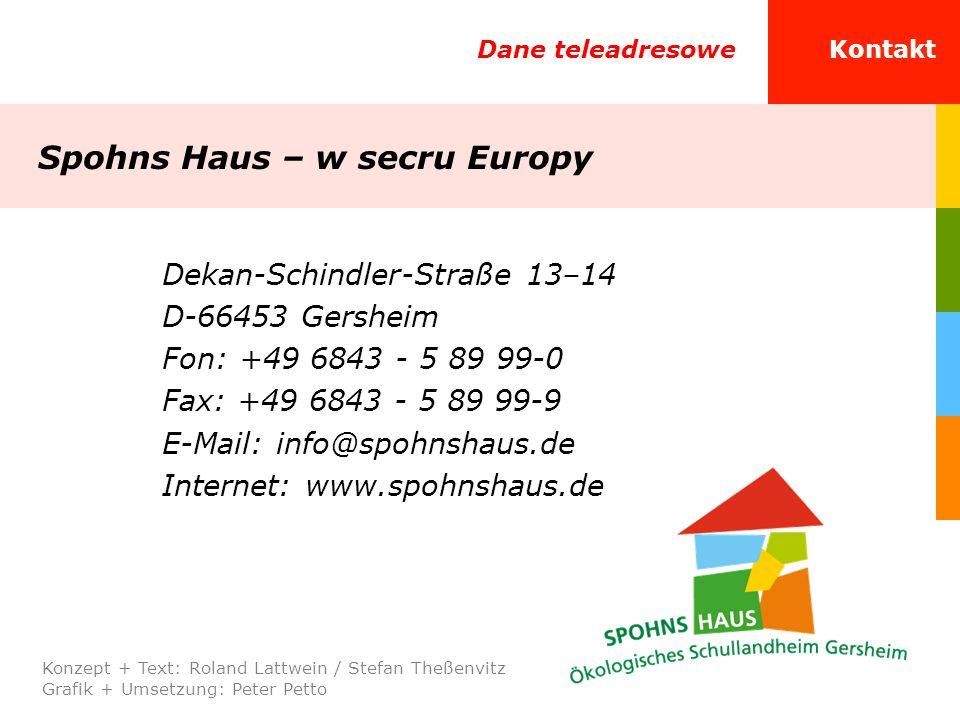 Spohns Haus – w secru Europy